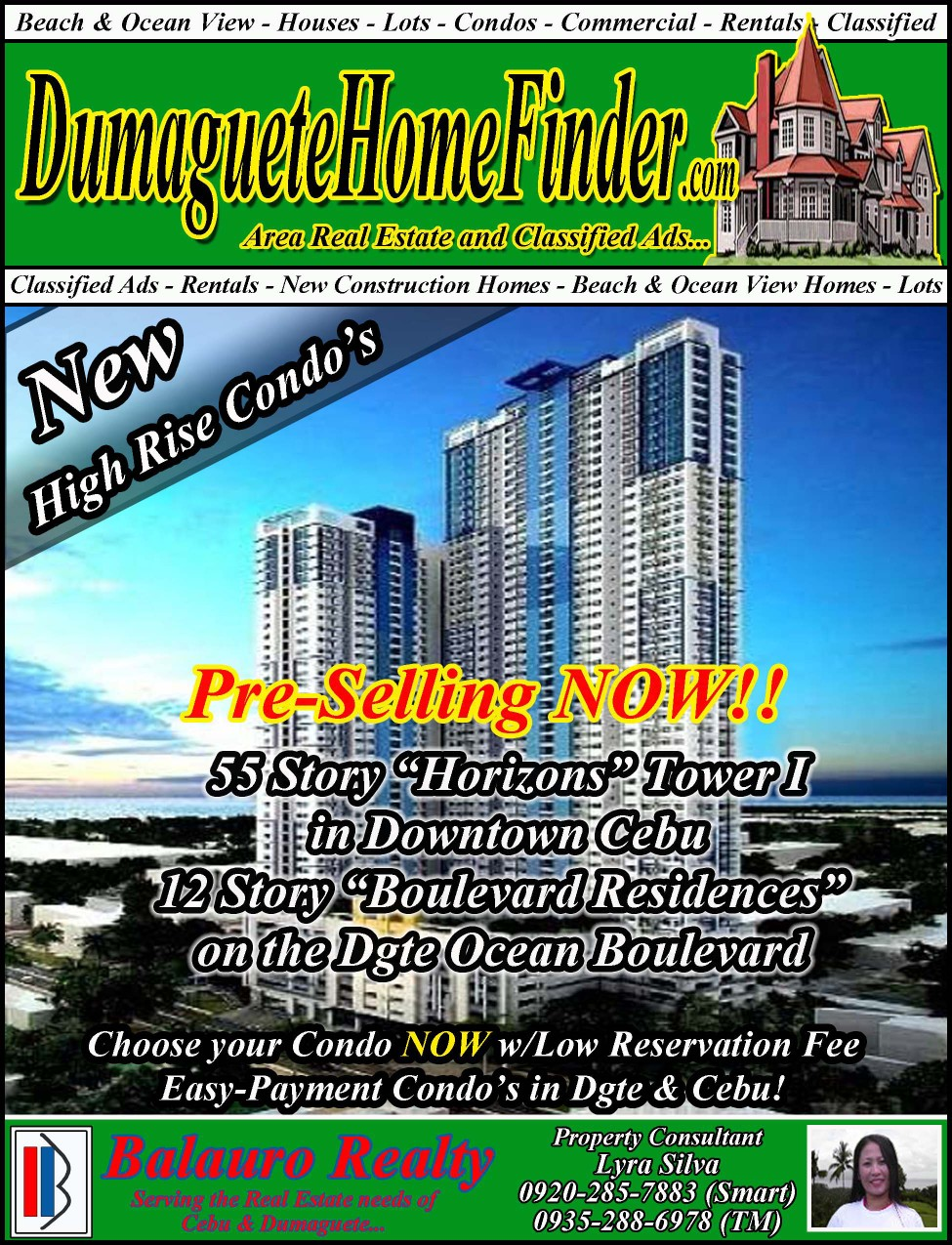 Free Classified Ads Dumaguete City